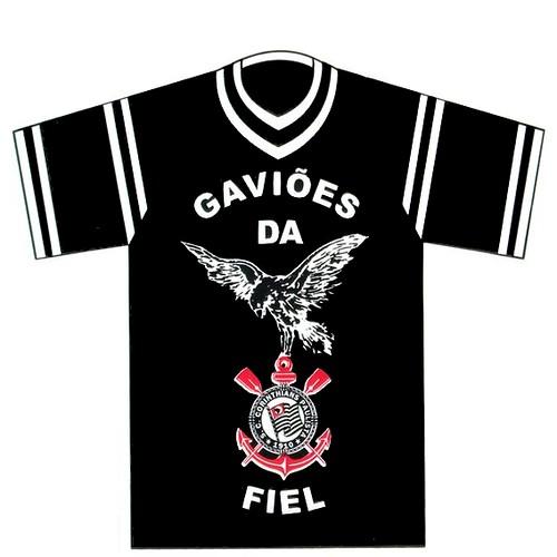 ... Camisa Gaviões da Fiel  e4728f086e326