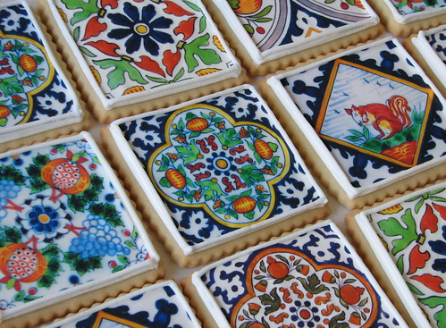 Delft Tile Cookies | by Whipped Bakeshop