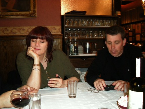 Chris & Cosey at the Italian Restaurant | by sleazybkk