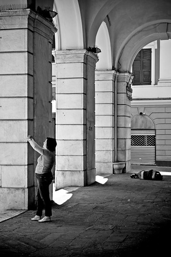Distances [distanze]. Streets in Genova. | by Luca Napoli [lucanapoli.altervista.org]