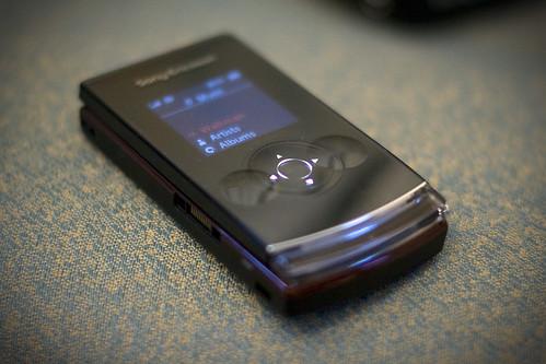 Anita's Sony Ericsson W980