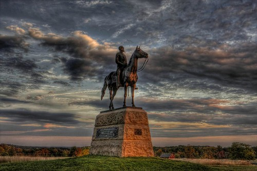 Monumental sunset at Gettysburg | by Sunset Sailor