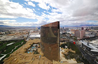 The Wynn Hotel as Seen from the 62nd Floor of the Encore Hotel | by merriewells