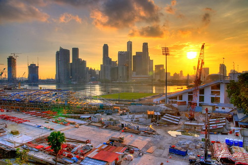 Marina Bay construction site | by j-imaging