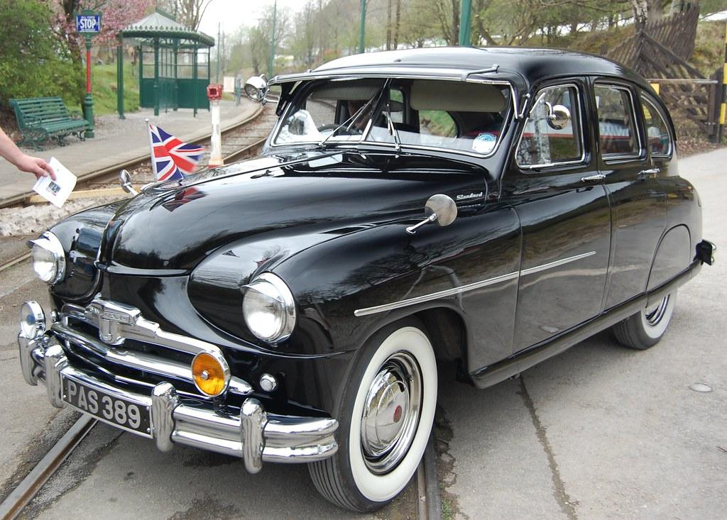Standard Vanguard 1947 - 1953 | American looks, success in A… | Flickr