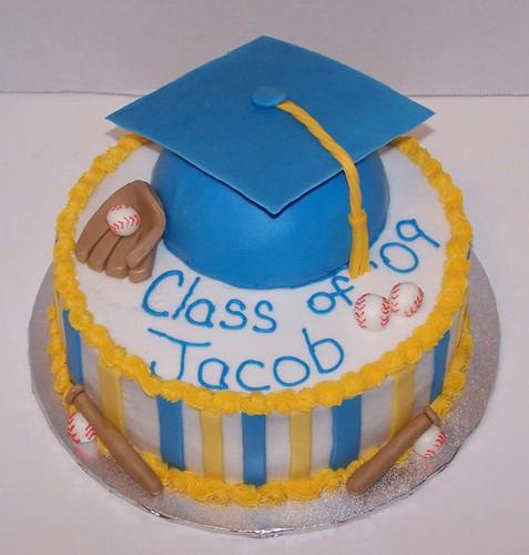 Jacob Baseball Cake