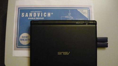 meet the jarate sandvich dispenser
