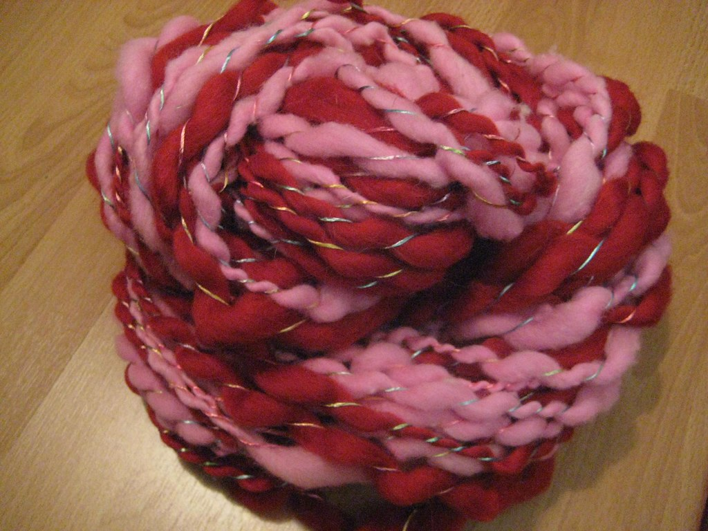 Fickle handspun bulky yarn | Handspun from mill ends and Han… | Flickr