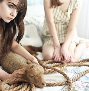 girls and lamb 1 | by SCOUT PARΞ – PHILLIPS