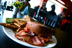 Ham and Cheese Sandwich Lunch 4-6-093 | by stevendepolo