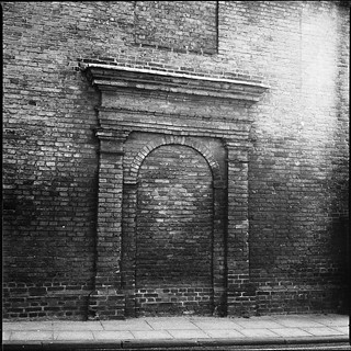 Ghost of a doorway on Hyde St | by Skink74