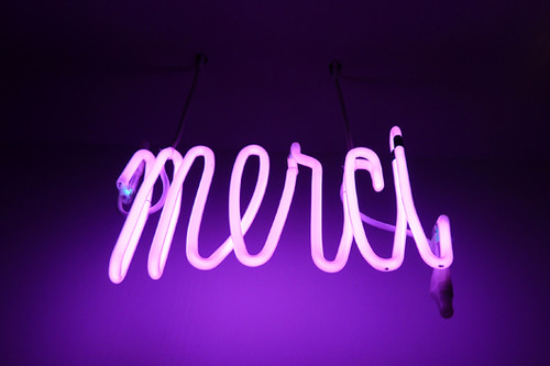 Merci | by Eleonore Bridge