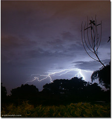 Lightning 2 ~Hand that swing a cradle can shake the world!~ | by NeeZhom Photomalaya