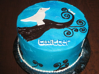 Twitter Cake with the Twitter Bird Icon - The Sugar Me Bakery | by Bagel Me!