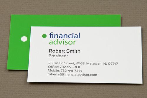 Versatile Financial Advisor Business Card Versatile Financ Flickr