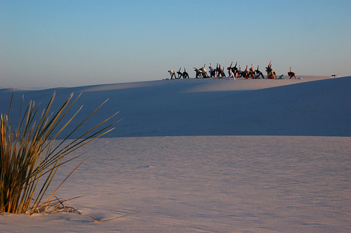 White Sands with Yoga | by nicholsphotos
