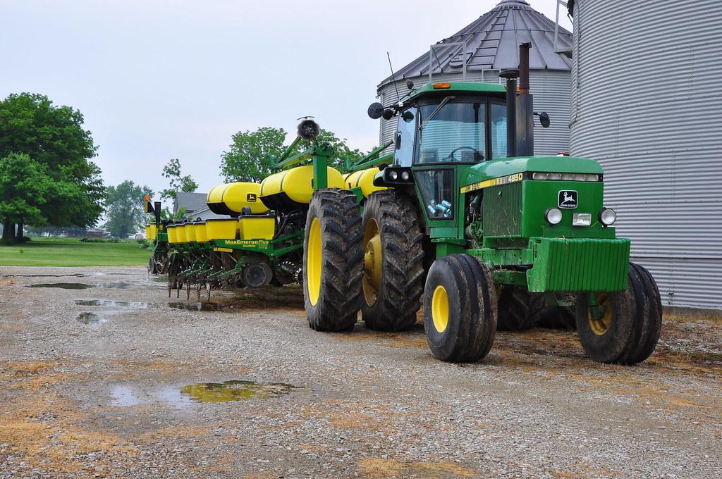 John Deere 4850 And 16 Row Planter John Flickr