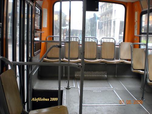 Bologna Autobus Menarini 201 N 5103 Del 1982 Interno