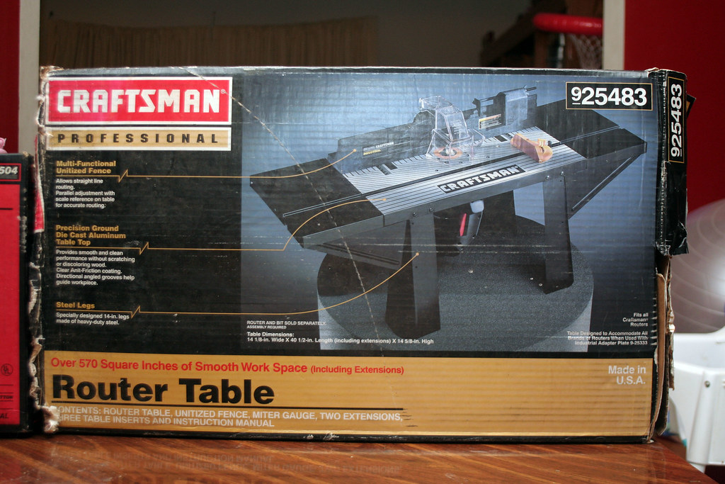 Craftsman router table 925483 larry d nance jr flickr craftsman router table 925483 by ldnjwoodworking craftsman router table 925483 by ldnjwoodworking greentooth Image collections