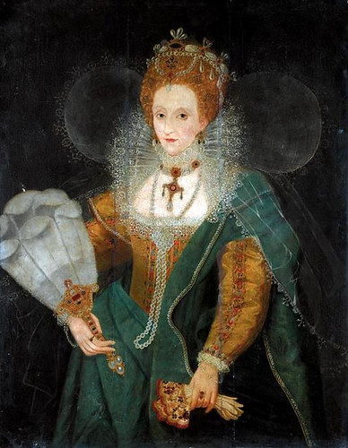 Elizabeth I during the late 1590s | by lisby1