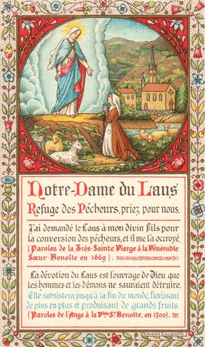 Notre-Dame du Laus | by Immaculata Helvetia