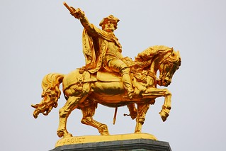 Statue of Charles of Lorraine 1854 by Joseph Jaquet | by Aljado