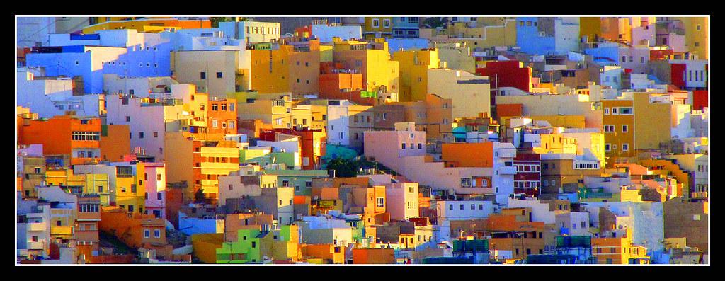 Colorful Hillside Neighborhood In Lisbon Portugal In The Flickr - Lisbon portugal neighborhoods map