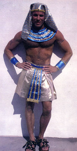 Men egyptian Sexy muscular