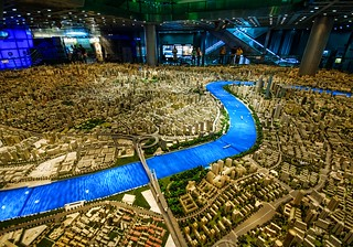 Even the model of Shanghai is huge | by Stuck in Customs