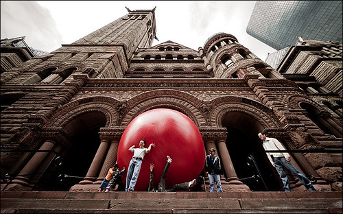 Red Ball at City Hall | by wvs