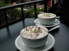 Hot Cocoa @ local cafe | by totalescape.com