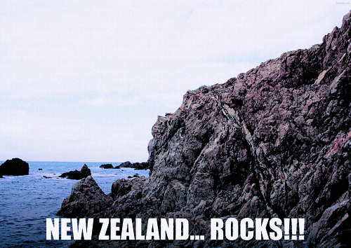 NEW ZEALAND ROCKS!!! | by denèe