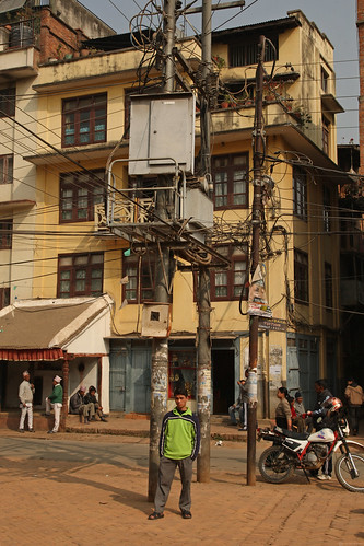 Electricity lines in Kathmandu | by World Bank Photo Collection