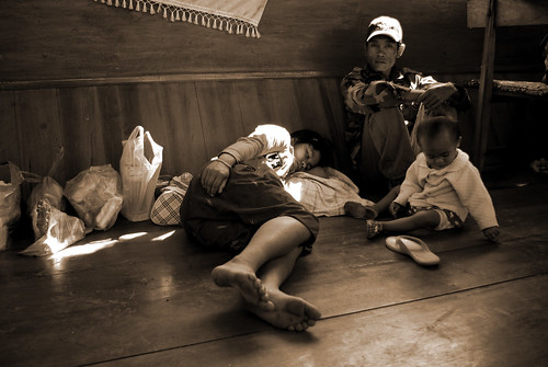 Passengers, Mekong River Boat Laos | by The Hungry Cyclist