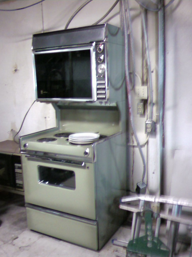 avocado rangestove wdouble oven by