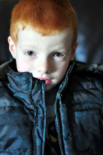 Red-Haired Blue Boy! Explored!