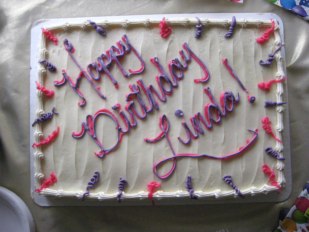 Birthday Cake Linda Monroezephyr Flickr