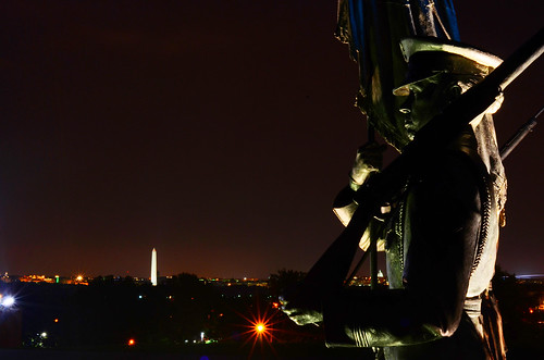 Air Force Memorial Statues, Overlooking Washington Monument [EXPLORE] | by WilliamMarlow
