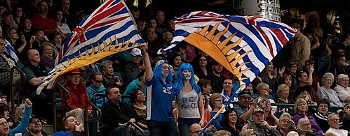 Kamloops B.C.Mar9_2014.Tim Hortons Brier.B.C. Fans.CCA/michael burns photo | by seasonofchampions