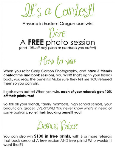 contestfreesessionreferral | by carlymcarlson