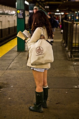 No Pants Subway Ride, NYC | by *things i didn't see