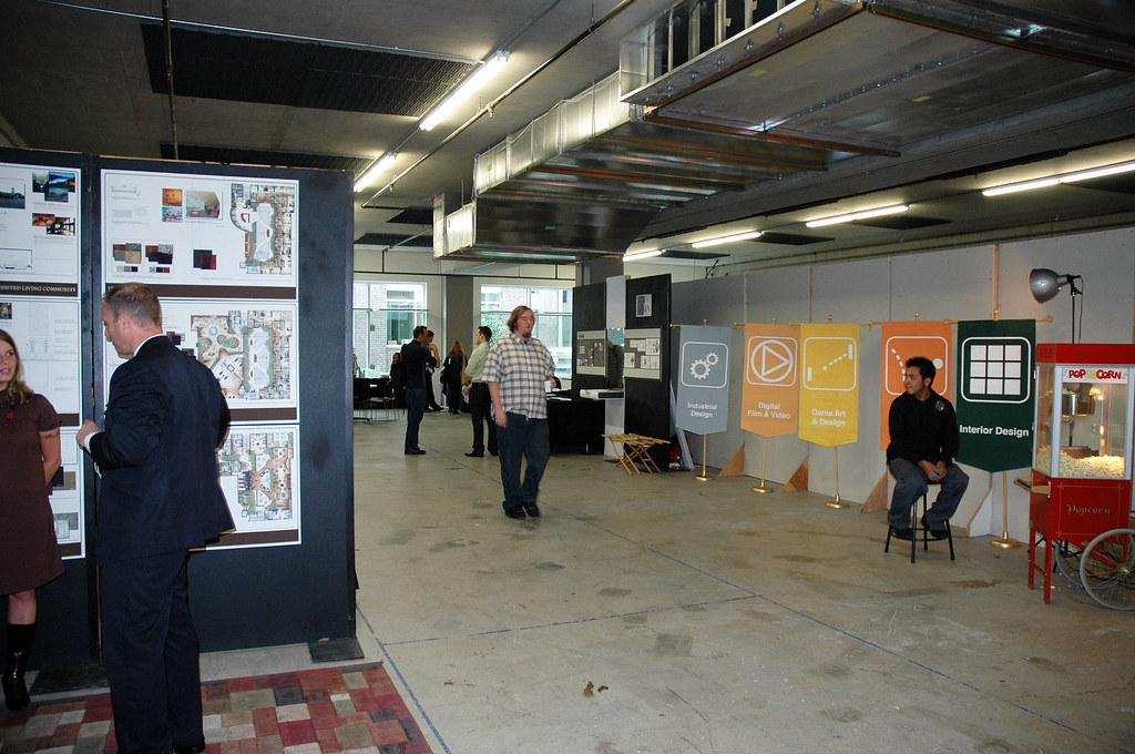 Art Institute Of Portland Portfolio Show Summer Flickr - The art institute game design