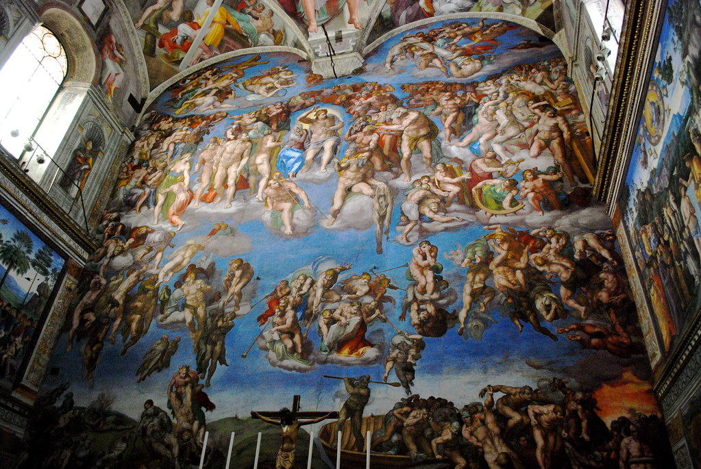michelangelos last judgement