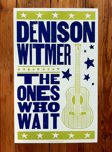 "Hatch Show Print - Denison Witmer ""The Ones Who Wait"" 
