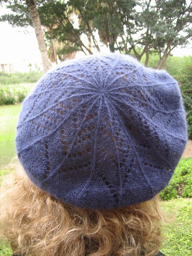 Puffs beret: back view | by bunnieprops