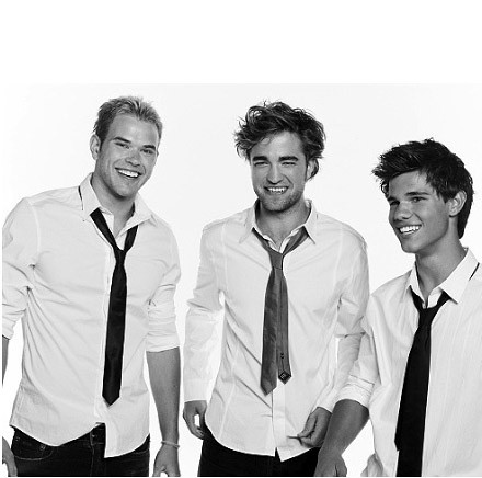 Kellan Lutz, Robert Pattinson && Taylor Lautner. (*Cosmo G ...