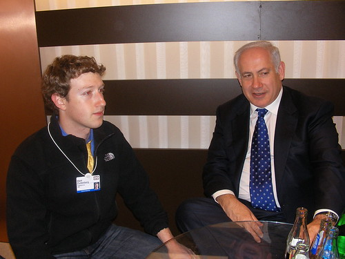 PM Netanyahu and Zuckerberg facebook founder | by theboost