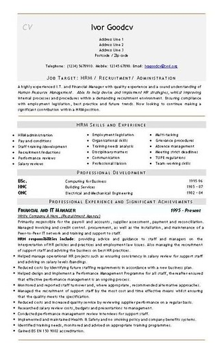 hr administrator job description pdf
