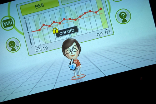 Day 1 Of The Wii Fit Challenge I M Giving It A Whirl
