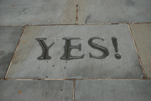 Yes! | by Joe Shlabotnik